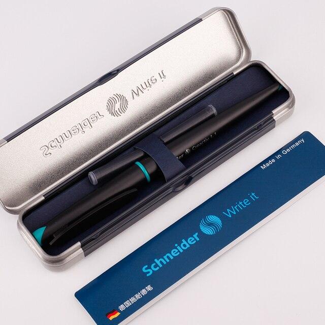 Schneider pluma estilográfica de 0,5/1,1/1,5mm, pluma estilográfica de negocios, diseño de pintura artística, caligrafía, Alemania