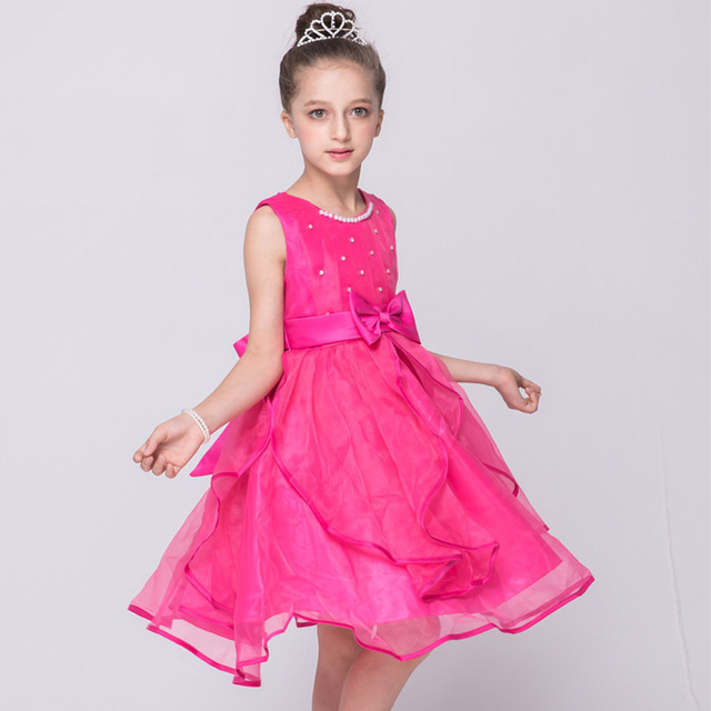 Online Shop lace flower girl dresses tulle purple white rose red ... 4aa10058981a