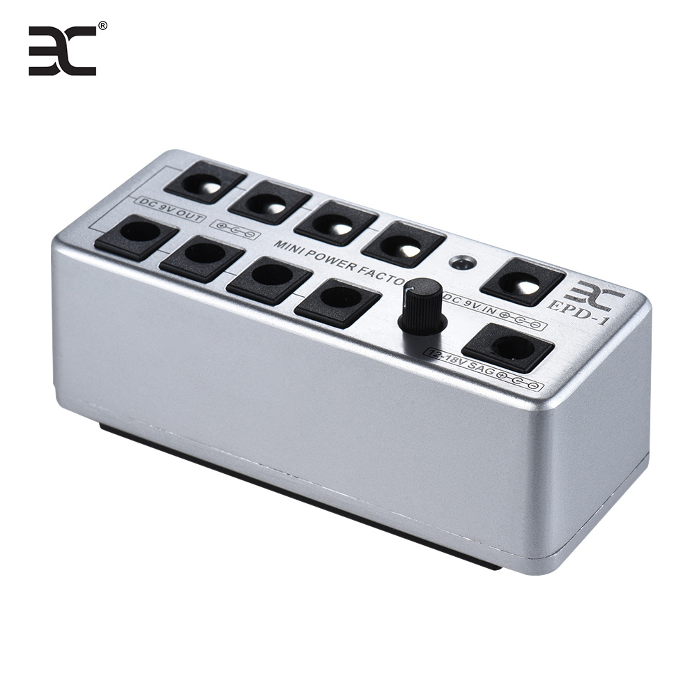 eno epd 1 guitar effect mini power supply station distributor 9 isolated dc outputs with power. Black Bedroom Furniture Sets. Home Design Ideas
