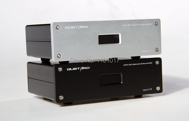 Gustard U12 Xmos USB to Croxial SPDIF converter HIFI EXQUIS 32bit 384K DSD Digital Interface AES/EBU IIS aiyima cm6631a dac board digital interface card usb to iis spdif output 24bit 192k