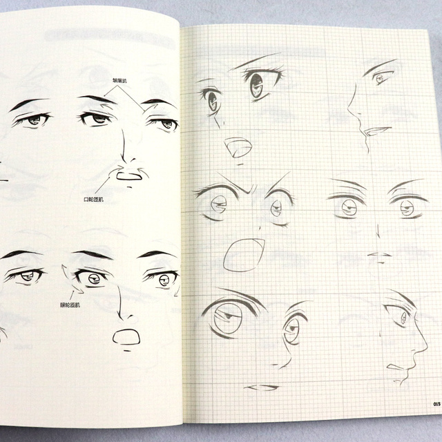 Пособие по аниме рисованию раскраска 4