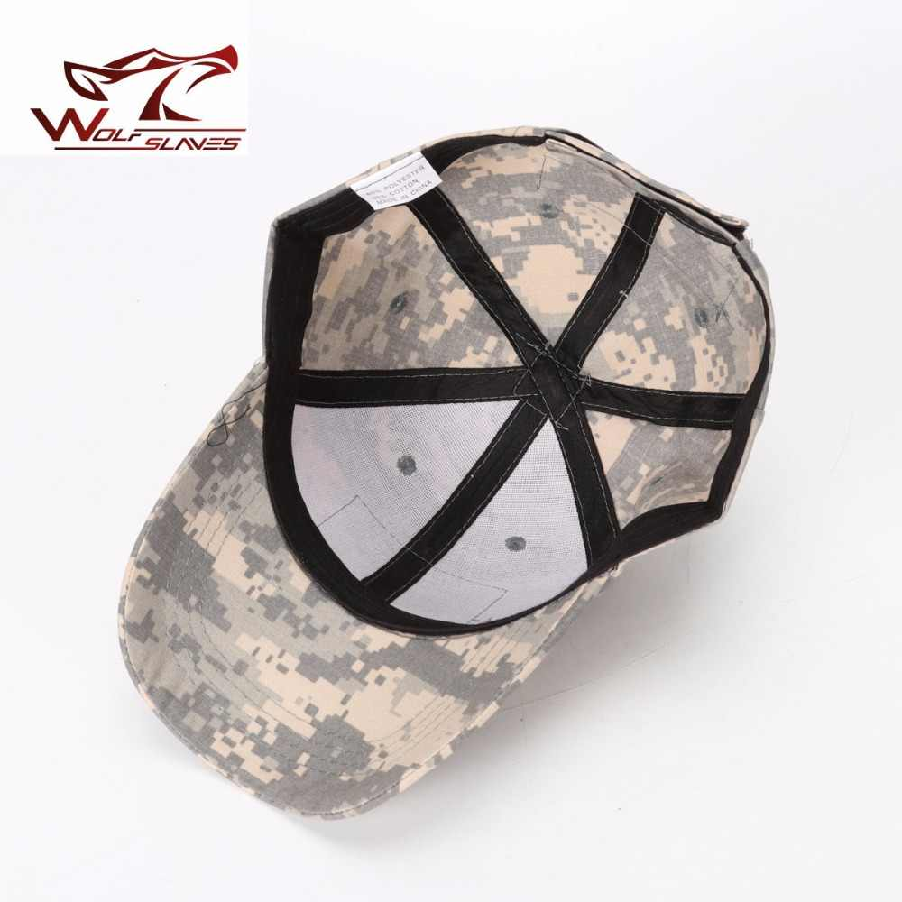 ... A-TACS FG AU Woodland Marpat Tactical Military Baseball Caps Camouflage  Hat with Hook and cc42e22ae2fe
