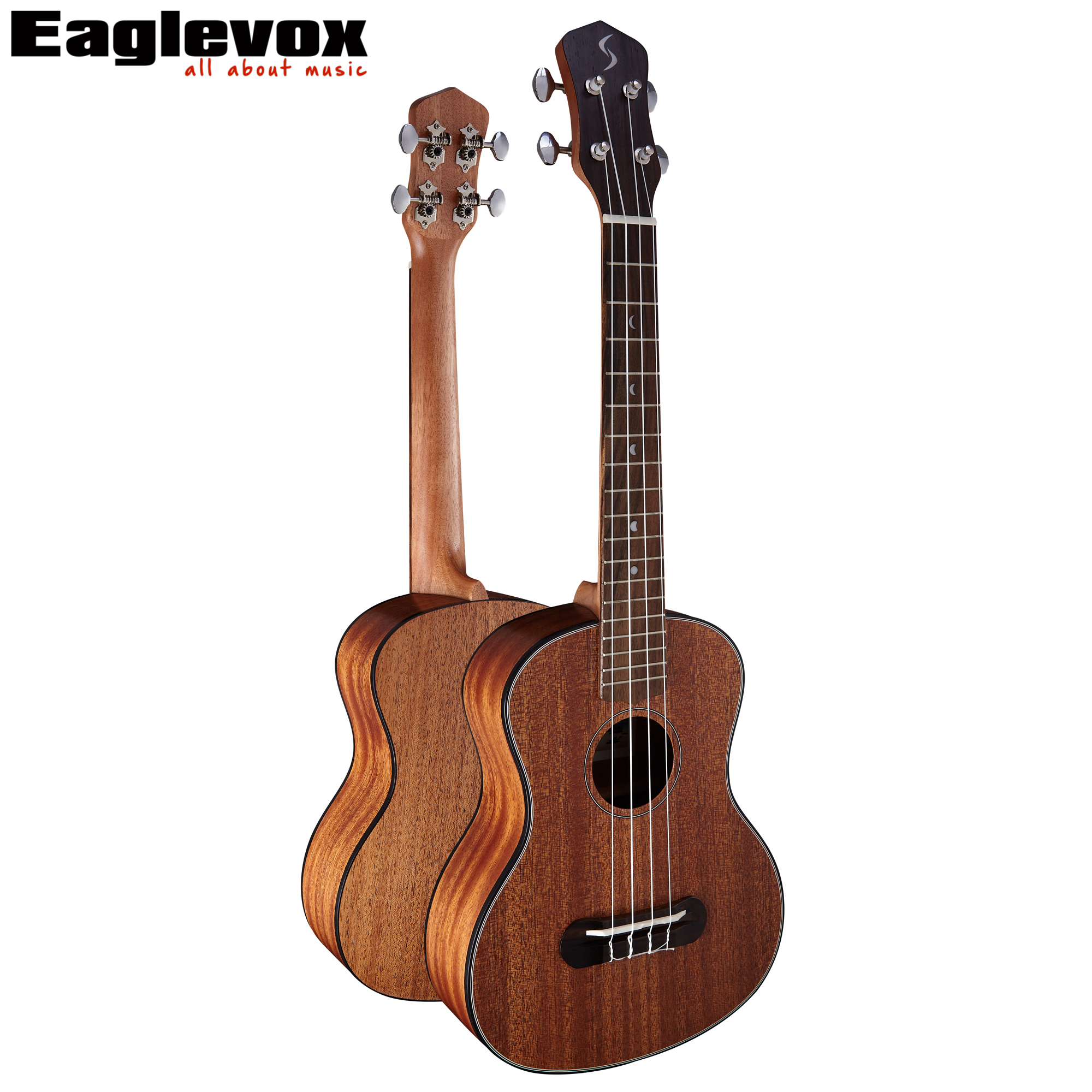 Lettu Tenor Ukulele 26 inch uke 18 Fret U-D1 Rosewood Fingerboard Mahogany Top Back Side U-D1 neck and fretboard fingerboard for 26 inch tenor ukulele hawaii guitar parts maple and rosewood 18 fret