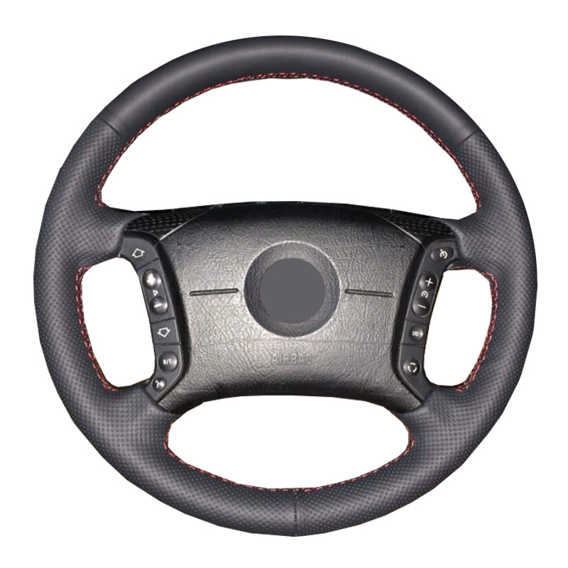 Steering wheel braid for BMW E46 318i 325i E39 E53 X5/Custom made Steering cover