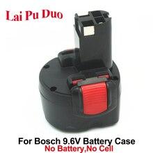 עבור בוש 9.6 V Ni CD תיק פלסטיק (אין סוללה תאים) BAT048 כלי חשמל סוללה, BAT100, BAT119, 2 607 335 260 מעטפת כיסוי