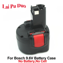 Voor Bosch 9.6 V Ni CD Plastic Case (Geen batterij cellen) Power Tool Batterij BAT048, BAT100, BAT119, 2 607 335 260 Shell Cover