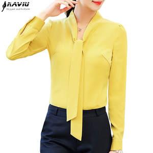 74545e453bf 2018 Elegant long sleeve women shirt plus size tops