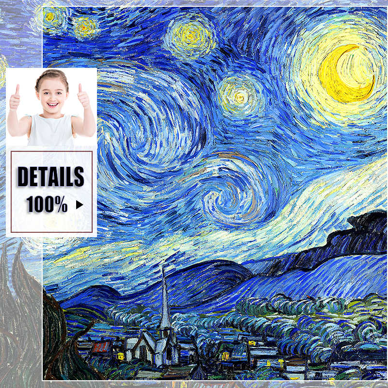 Van Gogh Oil Canvas Painting Canvas Art Print Poster Picture Wall Art Prints Paintings Abstract Poster Decoration Wall Picture