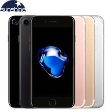 Unlocked Original Apple iPhone 7 Quad-core Mobile phone 12.0MP camera 32G/128G/256G Rom IOS Fingerprint touch ID