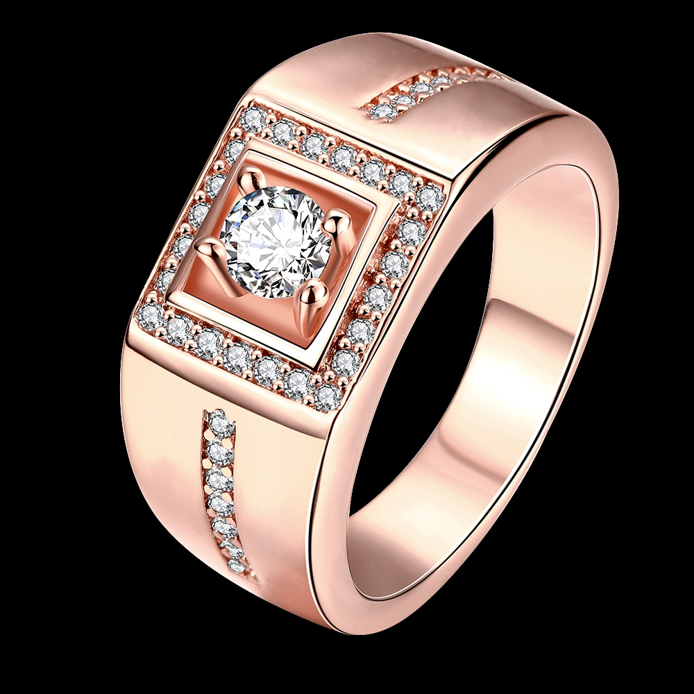 Fashion Vintage Jewelry GoldRose GoldPlatinum Plated Men
