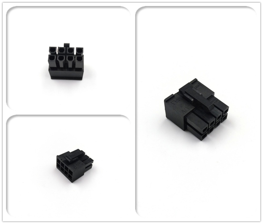JMT ATX EPS CPU 8Pin Male Connector Housing 4.2mm Pitch Spacing 5557 Type