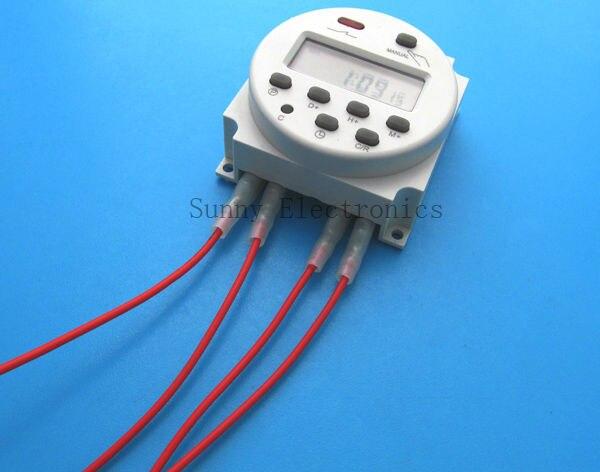 wholesale dc 12v 16a lcd digital power programmable timer switch rh aliexpress com 4Pron 12V Switch Wiring Diagram 12V Switch Wiring Diagram 4 Prong