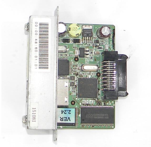 FOR EPSON Receipt POS Printer network RJ-45 Adapter M155B UB-E02 T88IV M129H