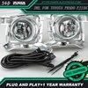 Hot Sale 12V 6000k LED DRL Daytime Running Light For Toyota Prado FJ150 LC150 2010 2011