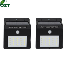 LED Solar Light 20 Leds Waterproof Outdoor Lamp PIR Motion Sensor Solar Wall Lamp Energy Saving Light Garden Decoration