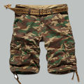 2016 shorts masculina Camouflage Cargo Military Shorts Men Cotton Loose Shorts Men Army Short Pants Bermuda
