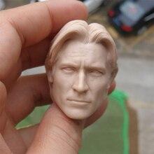 купить 1/6 Scale Jaime Lannister Men Head Sculpt Unpainted Models for 12''Action Figures Bodies Toys Gifts по цене 1011.06 рублей