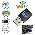 Alta Velocidade de 300 Mbps Mini LED USB 2.0 Wi-fi RTL8192 Wireless Dongle Adaptador de Rede Do Cartão 802.11n/g/b wifi wi-fi LAN Adapter Dongle