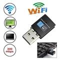 High Speed 300Mbps Mini LED USB 2.0 Wifi RTL8192 Wireless Dongle Adapter Card Network 802.11n/g/b wifi wi-fi LAN Dongle Adapter