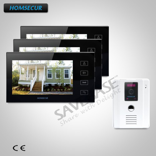 HOMSECUR 7 Wired Hands-free Video&Audio Smart Doorbell with White Camera 1C3MHOMSECUR 7 Wired Hands-free Video&Audio Smart Doorbell with White Camera 1C3M