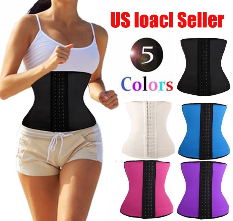 Women s Latex Waist Trainer Corset for font b Weight b font font b Loss b