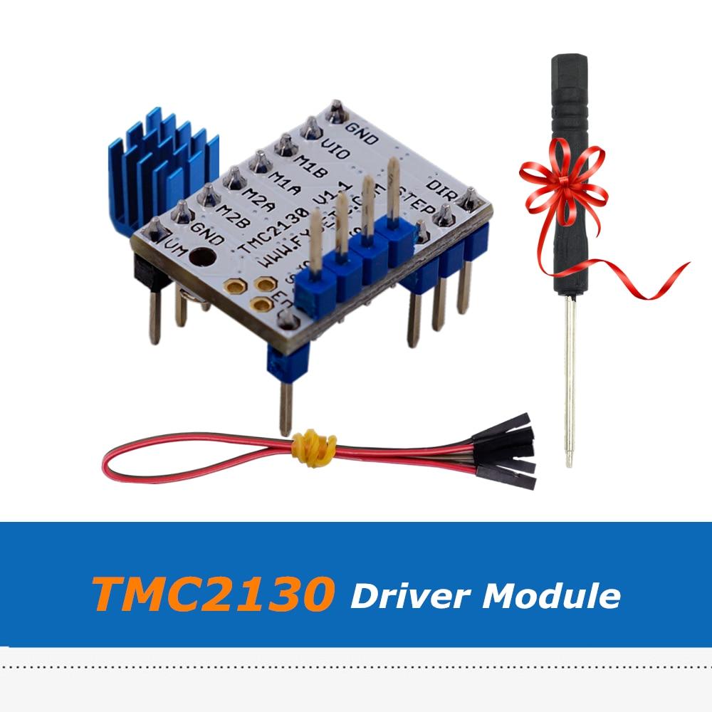 New Version Silent MKS V1.1 TMC2130 Stepper Motor Driver Module With SPI For 3D Printer Board 3da14 stepper motor driver module for 3d printer makerb reprap black silver