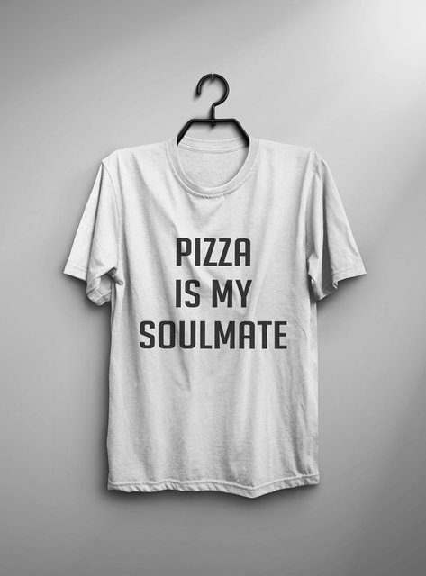 8e26111f8 Pizza T Shirt with sayings Tumblr Shirt for teens Funny TShirts Graphic Tee  Shirt Men Gift daughters Women T-Shirts-C834