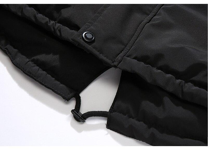 Aolamegs Fur Collar Winter Jacket Men Patchwork Thick Hooded Down Jacket Men Parkas Fashion Windproof Coat Mens Streetwear (13)
