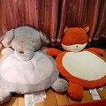 Прекрасный Ребенок Игра Ползать Коврик Фокс Слон Животных Плюшевые Коврик Детское Одеяло Ребенка Успокоить Сопровождать Спящая Мат