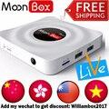 MoonBox PRO Caixa de TV Android 5.1 HD IPTV Livre Ao Vivo canal Set Top Box Inteligente Esporte Filmes Notícias China HK Taiwan CN