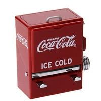 Retro Cola Automatic Toothpick Holder Pocket Small Toothpick Storage Box Dispenser Secret Stash Kitchen Accessories Home Decor