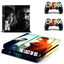 The Last of us Skin Sticker Decal Cover  for Sony PS4 PlayStation 4 Console and 2 controller skins