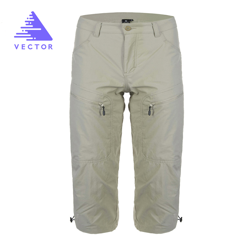 Camping Hiking Pants Men Quick Dry Outdoor Pants Male Summer Mountain Trekking Hunting Climbing Trousers Shorts 50010