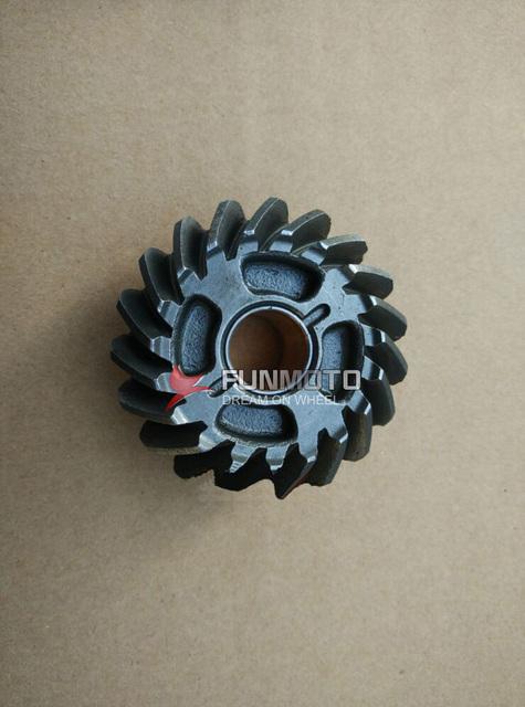 Marcha adelante o piñón de JIANSHE 250-5 piezas del motor LONCIN 250-F 19 dientes