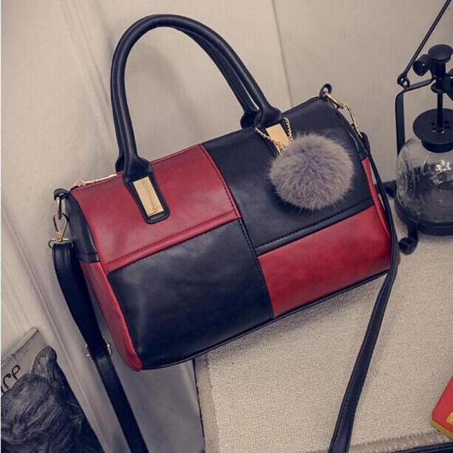 65425a34b2f3 Fashion Women Handbag PU Leather Shoulder Cross Body Bag Tote Satchel  Zipper Purse Casual Bolsa Feminina Female Handbag