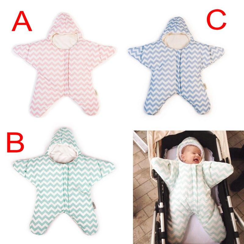 Online Retail Cute Sleeping Bag Baby Blanket Starlike