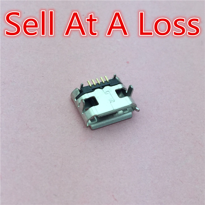 10pcs G27 Micro USB 5pin Jack Female Socket G27 Connector OX Horn Curly Mouth for Tail Charging Mobile Phone Sell At A Loss USA 10pcs lot micro usb 5pin female socket connector plain mouth type for charging mobile phone free shipping