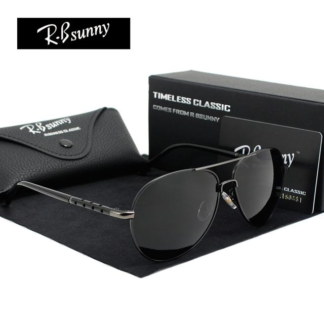 2017 new marca de moda polarizada óculos de sol dos homens retro clássico piloto óculos cor polaroid lentes mulheres óculos de sol óculos de condução