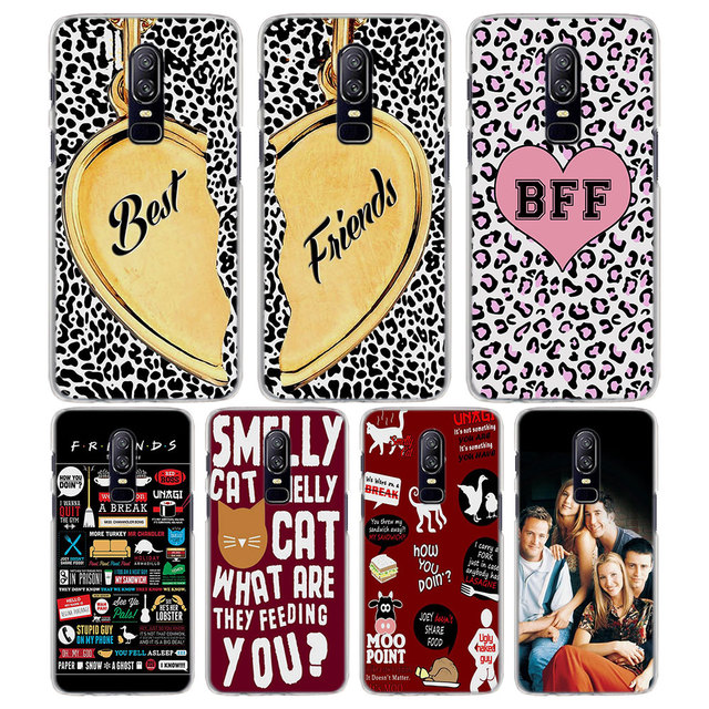 For Oneplus 6 5t Case Friends Tv Show Best Friends Forever Pattern