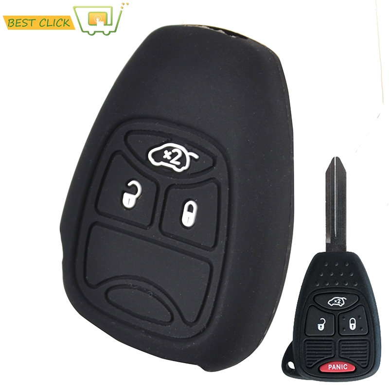 Key Fob Cover For 2008 2009 2010 2011 2012 2013 Jeep Liberty Remote Case Skin