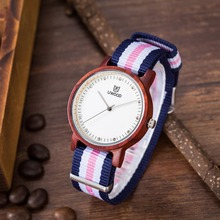 2016 women Casual Watches Top Luxury Brand Japan Movement Wooden WoMens Watch Ladies Analog Woodwatches with Adjustable Band