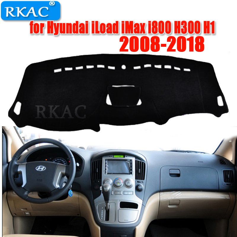 Car Dashboard Covers Mat For Or Hyundai ILoad IMax I800 H300 H1 2008- 2018 Left Hand Drive Dashmat Pad Dash Covers  Accessories