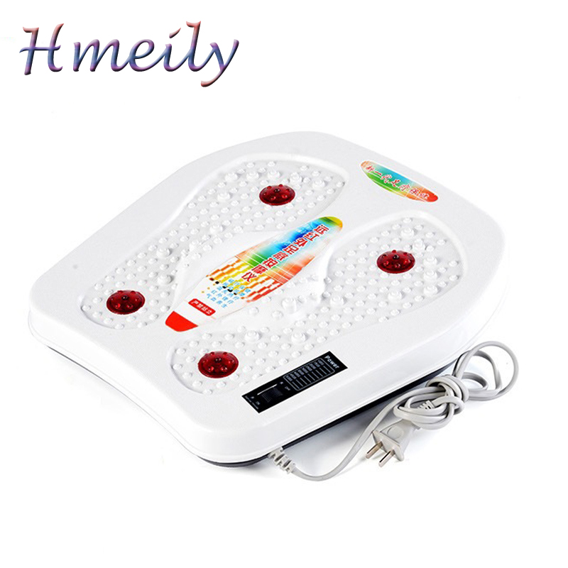 Infrared Reflexology Foot Care Tool Massage Electric Machine Automatic Roller Feet Care Massager Circulation Therapy Heater