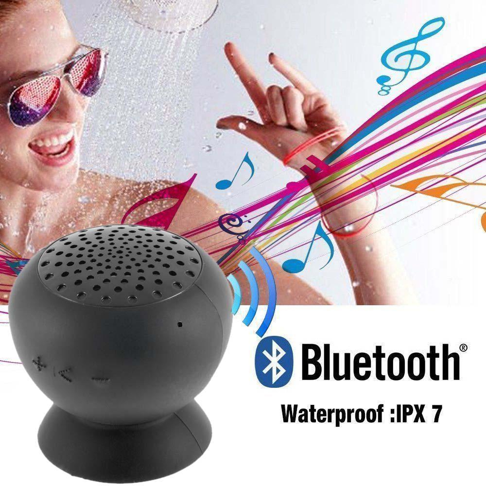 Waterproof Wireless Bluetooth Handsfree Suction Speaker