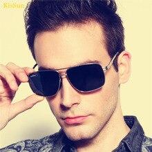 2016 Masculine Mens Polaroid Sunglasses Black G ray Shades Vintage Outdoor Driver Fishing Sun Glasses KisSun Brand Original Logo