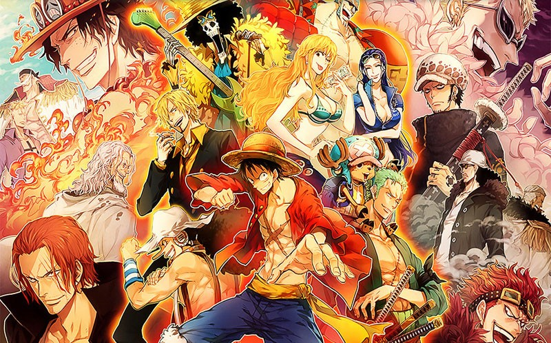 Us 1754 35 Offjapanese Anime 3d Wallpaper One Piece Wall Mural Cartoon Wallpaper For Walls Photo Wallpaper Kids Bedroom Tv Backdrop Room Decor In