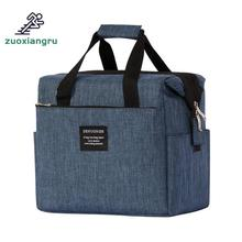 Lunch Box Brand Thermal Cooler Waterproof Insulated Portable Tote Picnic Lunch Box New Multifunction Picnic Bags