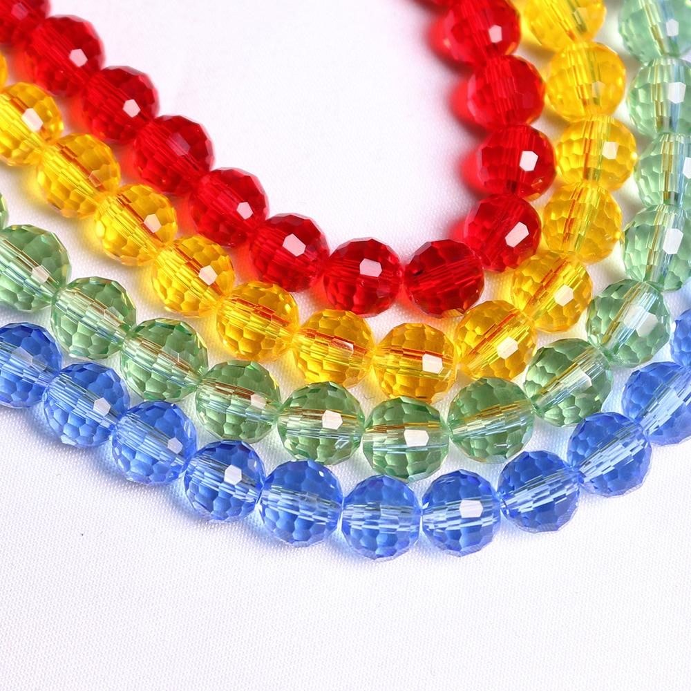 plastic bulk hole round cheap beads product wholesale color spacer assorted opaque pearl charms jewelry acrylic