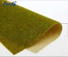 summer green Turf paper building model turf material DIY grass lawn landscape train military scene multi specification