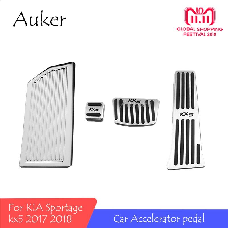 For KIA Sportage 2018 2017 kx5 QL AT Accelerator Pedal Treadle Clutch Plate Footrest Throttle Brake